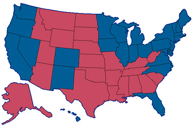 2008 Election Results AKA Jeffrey's View of the World